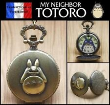 Montre gousset NEUVE ! ( Pocket Watch ) - Manga Totoro ( Ref 1 )