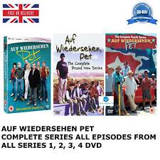 AUF-WIEDERSEHEN-PET-Complete-Film-Collection-Seasons 1 2 3 4 Series DVD NEW UK