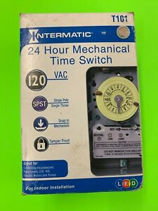 NIB Intermatic T101 24 Hour Mechanical Time Switch - 120V | b31  BRAND NEW