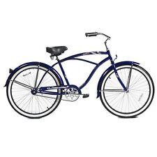 """Micargi 26"""" Tahiti Men beach cruiser bicycle bike Dark Blue"""