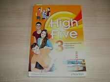 LIBRO USATO=HIGH FIVE 3=CON DVD ROM=ISBN 9780194665254
