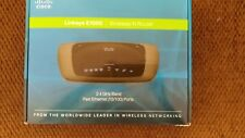Cisco Linksys E1000 Wireless-N Router 2.4 GHZ Fast Ethernet 4 port adapter
