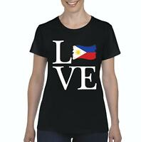 Love Philippines  Women Shirts T-Shirt Tee