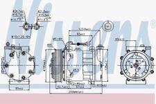 Nissens 89120 AC Compressor ALFA ROMEO 156  97-