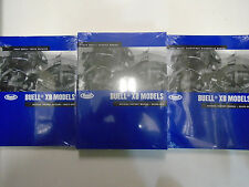 2009 Buell Motorcyc XB Models Firebolt Ulysses Lightning Service Shop Manual Set