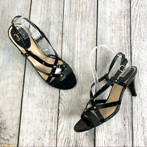 Cole Haan Black Patent Leather Heels Size 9.5B