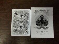 """SUPERB PACK """"Bicycle - Ghost (White Edition)"""" Pack of Playing Cards"""