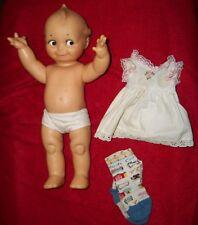 """Large Vintage Kewpie Doll Baby Cupie Vintage Cameo Figurine- 14"""" 1965"""