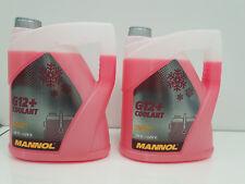 2X Coolant Antifreeze G12+ RED Ready Mixed -30°C 5L German Hi Spec - 2 x 5L