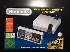 Nintendo Nes Classic Mini Edition W/30 Games **RARE EU EDITION** BRAND NEW!