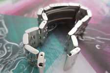 FitBreitling Watch 20 mm Solid Parallel 5-row Stainless Steel Links Band w Tool