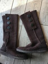 Genuine Brown Cardi Uggs Size Uk 7.5