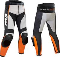 KTM Motorbike Motorcycle Rider Leather Pant LP-01-2019 ( US 38-48 )