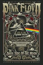 Pink Floyd The Dark Side Of The Moon Tour 1972 Sticker or Magnet