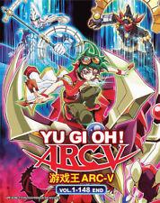YU-GI-OH! ARC-V ~~THE COMPLETE TV SERIES ENG SUB DVD BOX SET~~