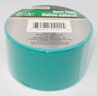 """TOOL BENCH Duct Tape 1.89"""" x 10 yds (40 mm x 9.14m) New And Sealed  TEAL"""