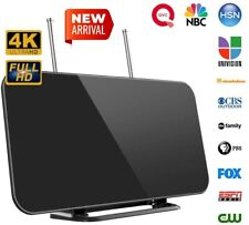 More details for indoor digital tv antenna with stand 80 mile range amplified hd support 4k 1080p