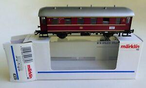 MARKLIN HO GERMAN RAILROAD FEDERAL COACH CAR No.4335