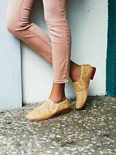 NIB Jeffrey Campbell for free People Carino Slip On Loafer Beige Size 6 $338