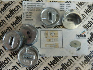 12 Stück Hettich Exzenter  Verbindungsbeschlag 25 mm