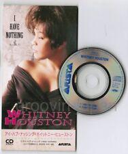 "WHITNEY HOUSTON I Have Nothing JAPAN 3"" CD SINGLE BVDA-63 Unsnapped Free S&H/PP"