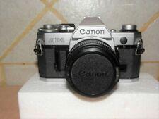 CANON AE-1 35MM FILM CAMERA W/ CANON FD 50MM 1:1.8 LENS - NO RESERVE