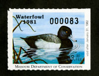 US Stamps # MI 3 $3 Ducks XF OG NH Scott Value $50.00