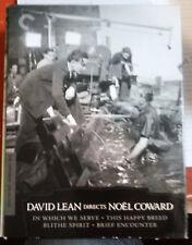 David Lean Directs Noel Coward (DVD, 2012, 4-Disc Set, Criterion Collection)