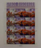 US SCOTT 3238 - 3242 PANE OF 20 SPACE DISCOVERY STAMPS 32 CENT FACE  MNH