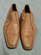 Mens Base Slip On Shoes Cream Size 10