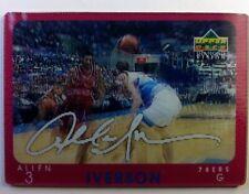 1997 97 Upper Deck Diamond Vision Signature Moves Allen Iverson #S20, Insert