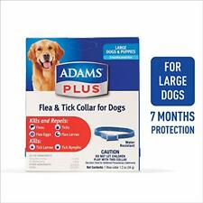 Adams Plus Flea & Tick Collar for Dogs, Large