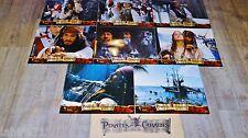 PIRATES DES CARAIBES 1 ! johnny depp  jeu photos cinema prestige grand format