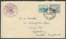 Belgium 1951 Ostend Dover ship cover PRINCE BAUDOUIM