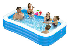 Family Schwimmbad Swimming Pool Familienpool Schwimmbecken Rechteck DHL
