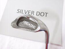 Used RH Ping Zing (Silver Dot) Lob L Wedge Ping JZ Steel Stiff Flex S-Flex