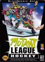 Mutant League Hockey - Rare Sega Genesis Game