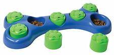 Dog Bone Treat Game Interactive Food Dispensing Game Puzzle Toy For Dogs