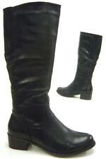 Damenstiefel & -stiefeletten ohne Muster mit Reißverschluss 37 Größe