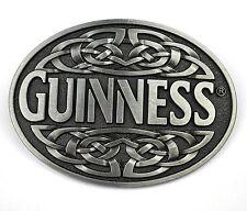 Guinness Beer Bier USA Belt Buckle Metall Gürtelschnalle