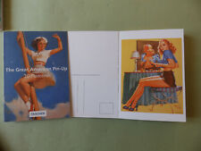 THE GREAT AMERICAN PIN UP 30 POSTCARDS EDT TASCHEN