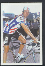 A Question of Sport 1986 Game Card - Jonathon Boyer - Cycling (T563)