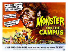 Monster on Campus Poster Replica Print 14 x 11""