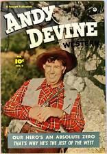 1951 ANDY DEVINE WESTERN # 2  - 1951 Fawcett (vg-fn)