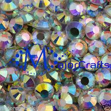 50pcs cristal AB 7mm Ss34 Piso Trasero non-hotfix Dmc Vidrio Cristales Strass
