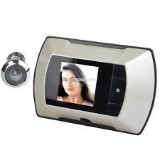 "HD Wireless Digital Door Peephole Viewer High Resolution Camera 2.4"" Monitor"