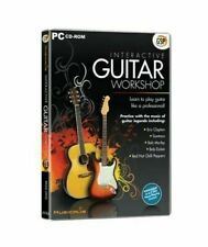 Learn To Play Guitar by Musicalis Interactive Guitar Workshop (PC CD-ROM) Sealed