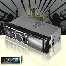 New listing Auto Car In-Dash Stereo Audio Fm Aux Input Receiver Sd Wma Usb Mp3 Radio Lcd New