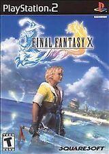 Final Fantasy X (Sony PlayStation 2, 2001)  NA Black Label