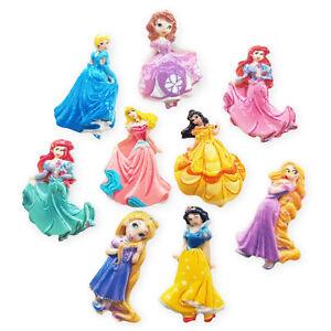 5pcs Assorted Princess Resin Flatback Cabochons Embellishment Decoden Card Craft
